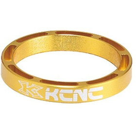 "KCNC Hollow Design Headset Spacer 1 1/8"" 12mm, gold"
